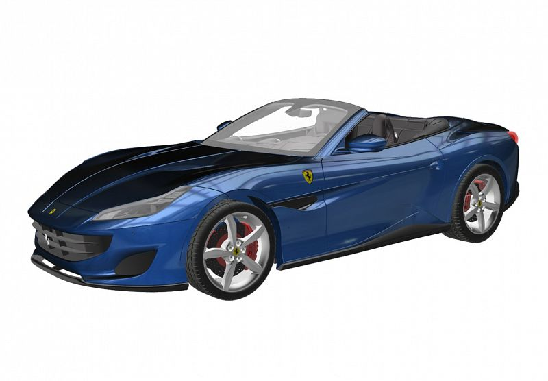 ferrari portofino bbr r sine 1 18 ferrari modelisme ferrari 1 18. Black Bedroom Furniture Sets. Home Design Ideas