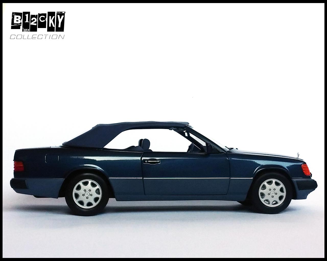 mercedes benz a124 300 ce 24 norev dx sedan coupe convertible diecast. Black Bedroom Furniture Sets. Home Design Ideas
