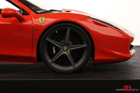 ferrari modelisme ferrari 1 18 atelier mr models ferrari 458 italia spider rosso dino 1 18. Black Bedroom Furniture Sets. Home Design Ideas