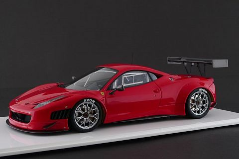 ferrari 458 gt3 auto place model 1 18 ferrari modelisme ferrari 1 18. Black Bedroom Furniture Sets. Home Design Ideas