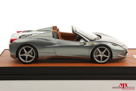 ferrari modelisme ferrari 1 18 atelier mr models ferrari 458 italia spider grise 1 18. Black Bedroom Furniture Sets. Home Design Ideas
