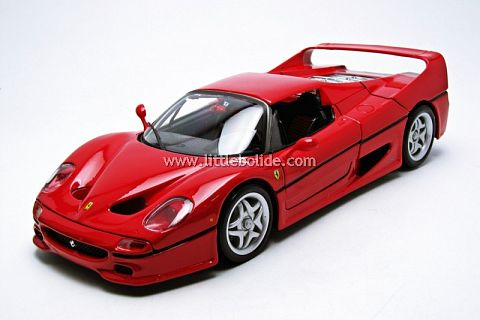 ferrari f50 coup bburago 1 18 ferrari modelisme ferrari 1 18. Black Bedroom Furniture Sets. Home Design Ideas